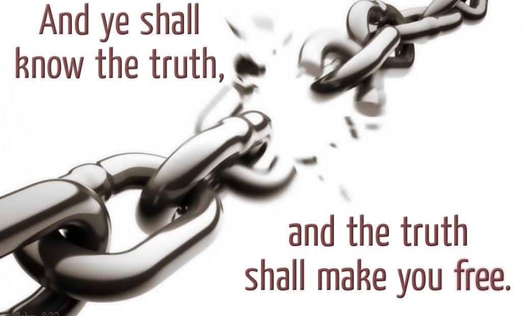 【读圣经学英语】真理必叫你们得以自由