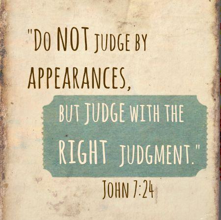 【读圣经学英语】不可按外貌判断
