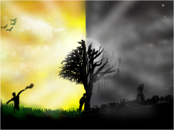 两个国度:黑暗与光