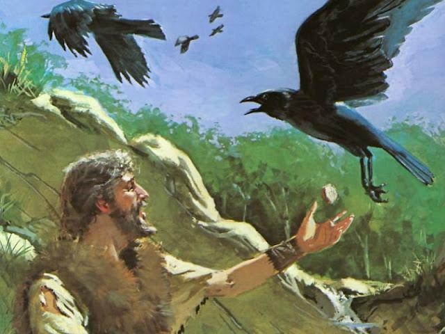 耶和华一路保守申言者以利亚