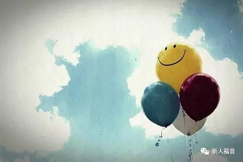 将忧郁转为满足与平安