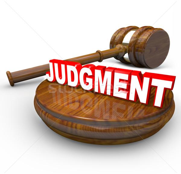 【读圣经学英语】为审判
