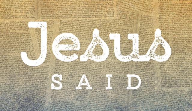【读圣经学英语】对你们说