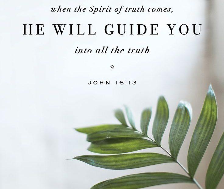 【读圣经学英语】引导你们进入一切的实际
