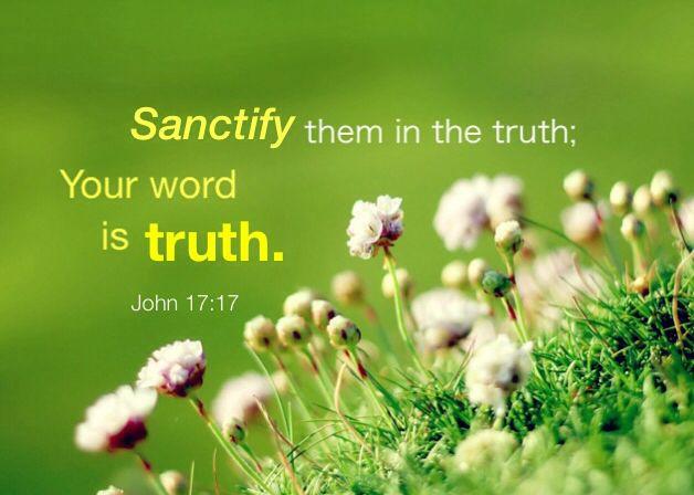 【读圣经学英语】用真理圣别