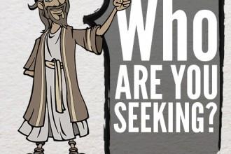 【读圣经学英语】你们找谁?