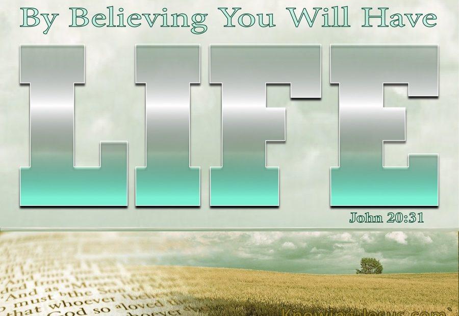 【读圣经学英语】得生命