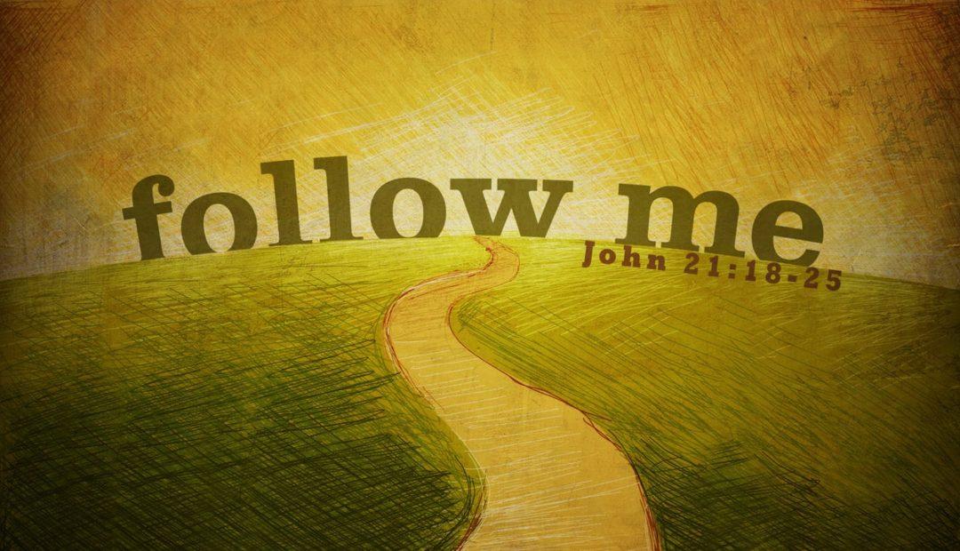 【读圣经学英语】跟从我吧