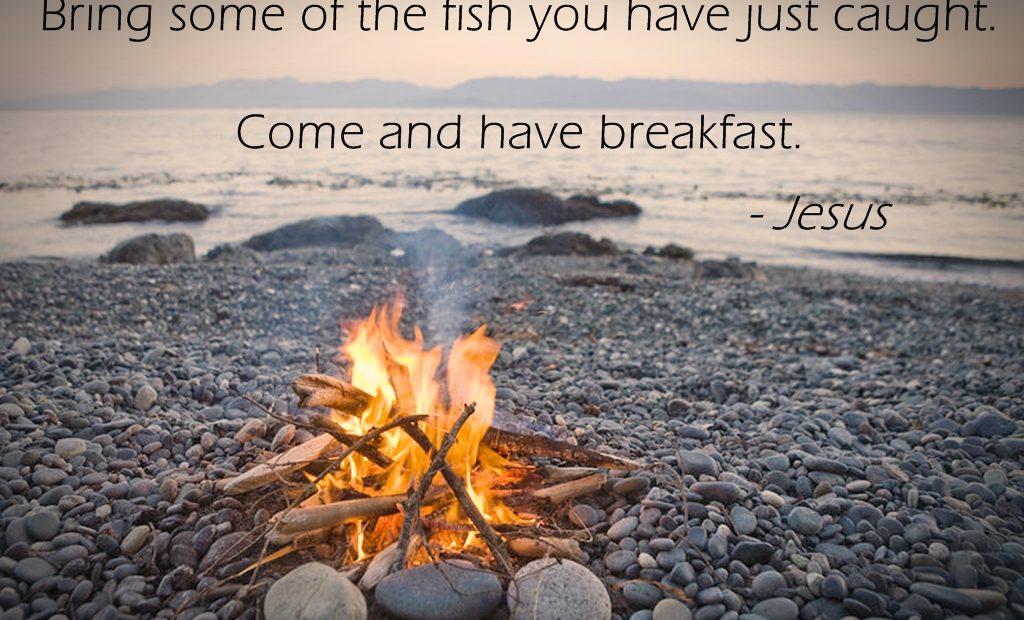 【读圣经学英语】来吃早饭