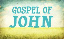 第二十讲:约翰福音—神救主(二)