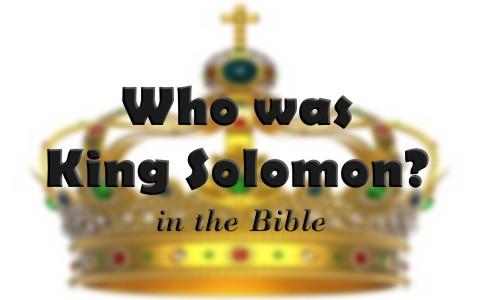 【读圣经学英语】所罗门