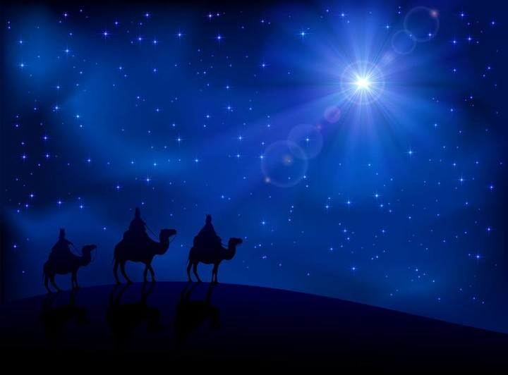 【读圣经学英语】祂的星出现