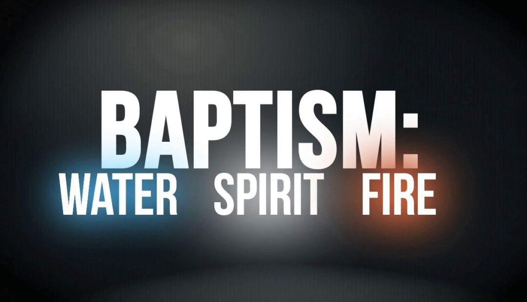 【读圣经学英语】浸在圣灵与火里