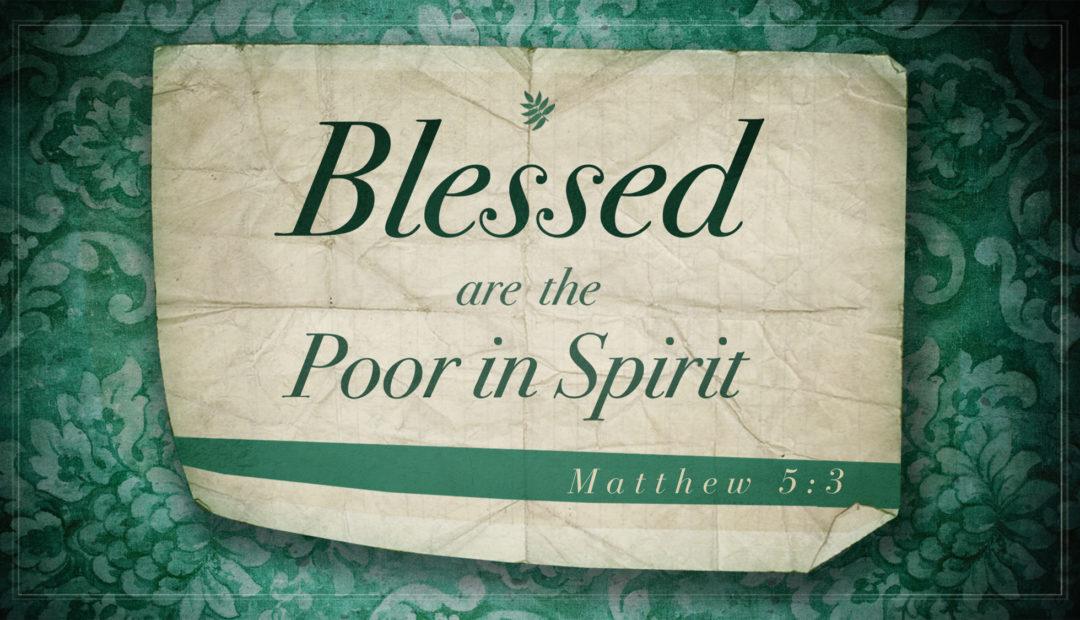 【读圣经学英语】灵里贫穷的人有福了