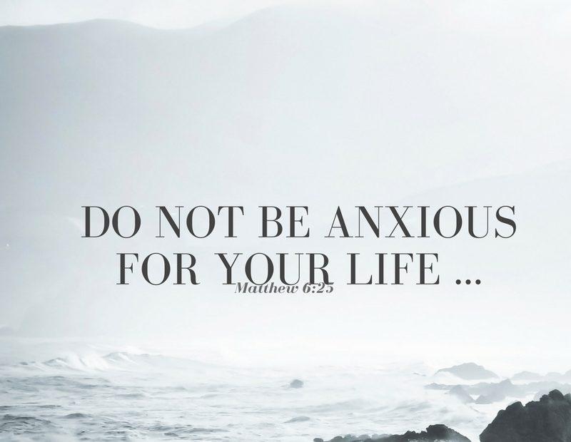 【读圣经学英语】不要为生命忧虑