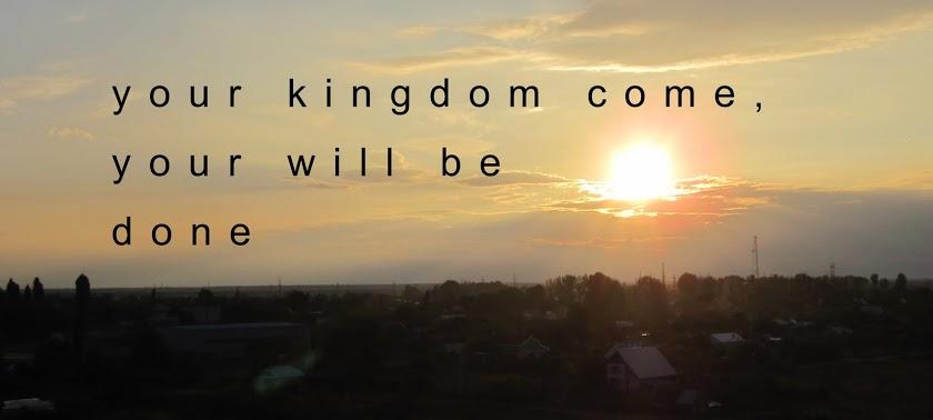 【读圣经学英语】愿你的国来临