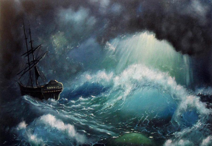 【读圣经学英语】大风暴