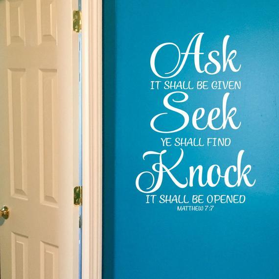 只要有一点点信,神就开门