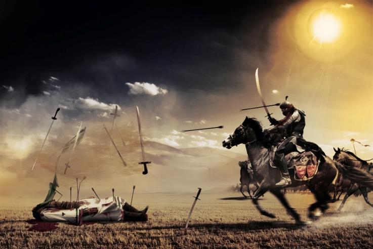 """世界上许多混乱,很多宗教徒说""""圣战"""",战争是神允许的吗?"""