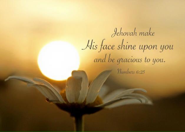 【鱼和饼】愿耶和华使祂的脸光照你,赐恩给你