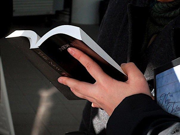 【读圣经学英语】永远生命的话