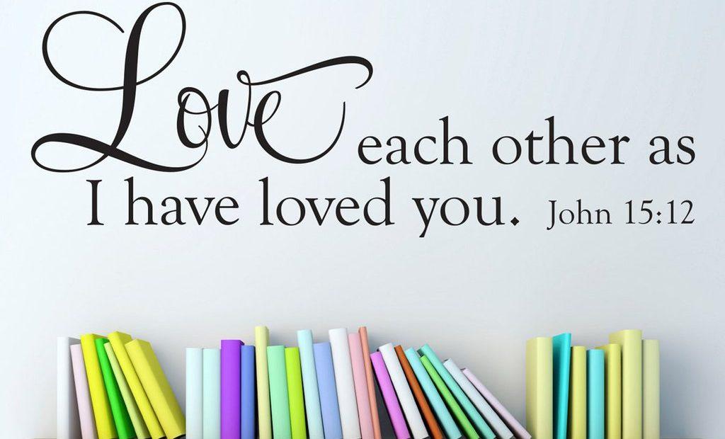 【读圣经学英语】住在祂的爱里