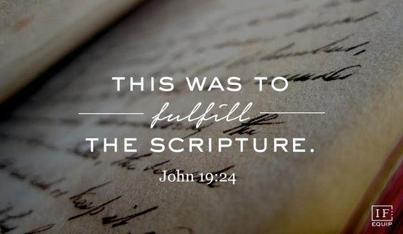 【读圣经学英语】这是要应验经书