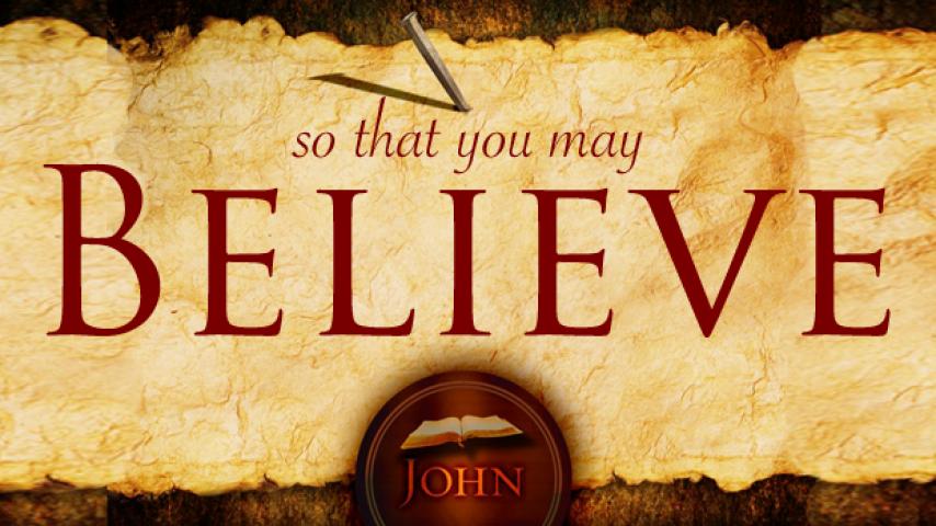 【读圣经学英语】看见就信了
