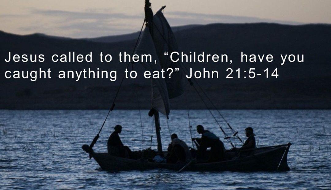 【读圣经学英语】孩子们,你们有鱼吃么?