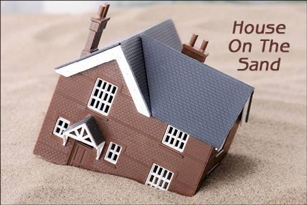 【读圣经学英语】房子盖在沙土上