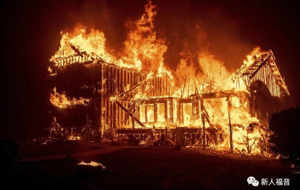 加州的火,烧得掉房子,烧不掉家